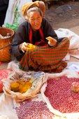 Five-day market, Inle Lake — Stock Photo