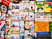 Portobello markt, Londen — Stockfoto