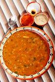 Lentil Soup in plate — Stockfoto