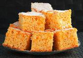 Sweet orange cake — Stock Photo