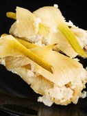 Baked whitefish with fennel — Stock Photo