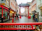 Chinatown in London, England — Stock Photo