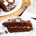 Sachertorte cake dessert — Stock Photo #63380691