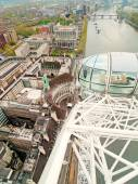 Cabins of London Eye — Stock Photo