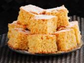 Zoete oranje taart — Stockfoto