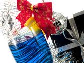 Blu Fizz Cocktail — Stock Photo