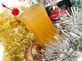 Fruity Rum Punch Cocktail — Stock Photo