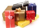 Many lovely presents — Stock Photo