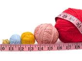 Filato di lana per maglieria — Foto Stock