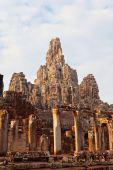 Bayon Temple in Angkor Wat, Cambodia — Stock fotografie