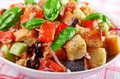 Italian salad with tomatoes — Stock Photo