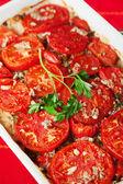 Tomato and rice casserole — Foto Stock