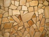 Stone mosaic wall background — Stock Photo