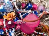 Pile of ethnic jewelry — Stock Photo