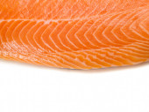 Salmon Steak Background — Stock Photo
