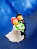Figurine de gâteau de mariage — Photo