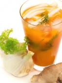 Ginger Splice Cocktail — Stock Photo