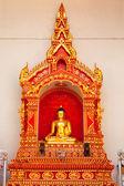 Buddha statue at Wat Chedi Luang — Stock Photo