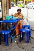 Street food in Bangkok, Thailand — Stock Photo