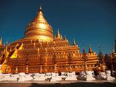 Shwezigon Pagoda, Bagan — Fotografia Stock
