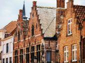 ベルギー、ブルージュの建物 — ストック写真