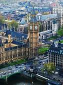 London Eye'dan Big Ben — Stok fotoğraf