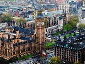 Big Ben from London Eye — Stock Photo