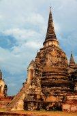 Wat Phra Si Sanphet, Ayuthaya — ストック写真