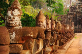 Faces in Bayon Temple, Angkor Wat — Stock Photo