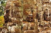 Bayon Temple in Angkor Wat, Cambodia — Stock Photo