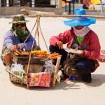 Thai people selling snacks — Stock Photo #63761015