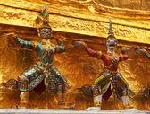 Wat phra Kaew w Bangkoku, bangkok — Zdjęcie stockowe