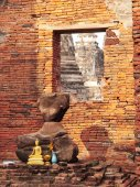 Wat Phra Si Sanphet, Ayuthaya — Stock Photo