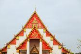 Wat Phra Si Sanphet, Ayuthaya — Stock Photo