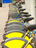 Bicycles for rent in Vienna — Stock Photo
