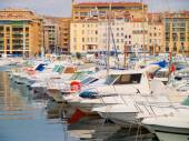 Yacht port in  Marseille — Stock Photo