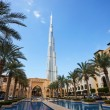View of Burj Khalifa the tallest building in world — Stock Photo #69564897