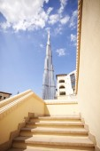 Burj Khalifa, the highest building in the world, — Stock Photo