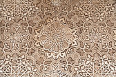 Polychromed lacework stucco — Stock Photo