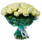 Bouquet of 101 white rose — Stok fotoğraf