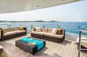 Yacht interior. — Stock Photo