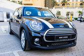 "New cars presentation at yearly automotive-show ""MECONTI"" event. November 26, 2014 in Dubai, United Arab Emirates. — Foto de Stock"