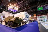 The International Defence Exhibition and Conference, IDEX.Abu-Dhabi,UAE. — Stock Photo