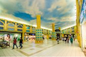 Ibn Battuta Mall,Dubai,UAE. — Zdjęcie stockowe