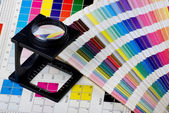 Color management set — Stock Photo