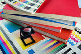 Printing color management — Stock Photo