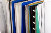 Documents and file folders — Stock Photo