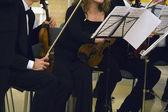 Koncert klasické hudby — Stock fotografie