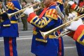 Leger brassband — Stockfoto