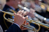 Trumpeters — Stock Photo